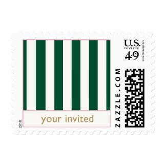 Beverly Hills Stamp: Stripes Postage