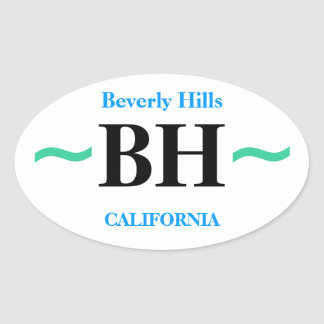 BEVERLY HILLS stickers (4)