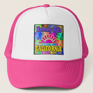 Beverly Hills Sun & Palms Hat