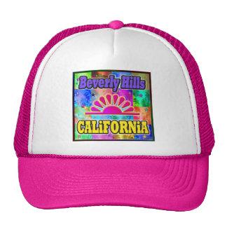 Beverly Hills Sun y gorra de las palmas