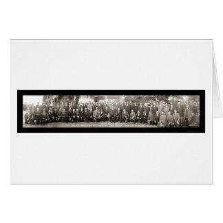 Beverly, MA Taft House Photo 1911 Card