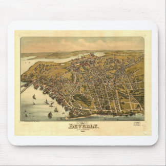 Beverly, Massachusetts in 1886 Mouse Pad