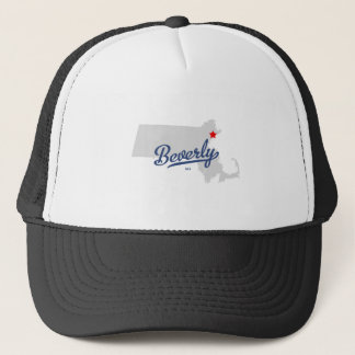 Beverly Massachusetts MA Shirt Trucker Hat