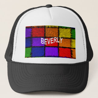 BEVERLY TRUCKER HAT
