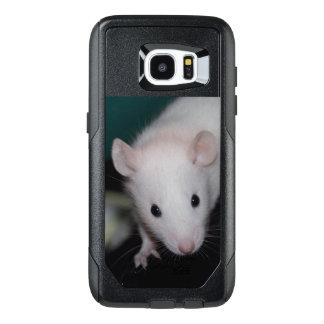 BEW - Black Eyed White Baby Fancy Rat Phone Case
