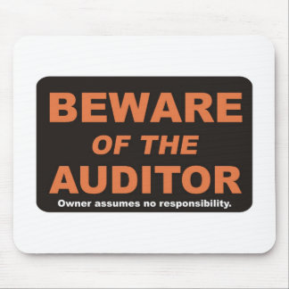 Beware / Auditor Mouse Pad