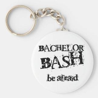 Beware Bachelor Bash Keychain
