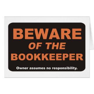 Beware / Bookkeeper Card