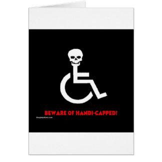 Beware Cards