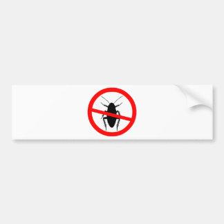 Beware Cockroaches Bumper Sticker
