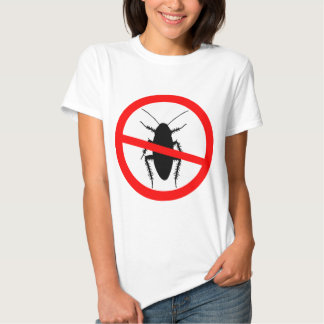 Beware Cockroaches T Shirt