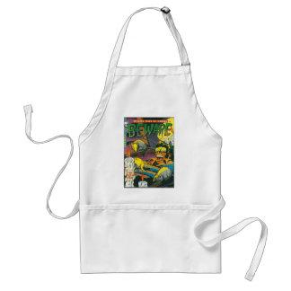 Beware comic book adult apron