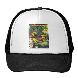 Beware comic book trucker hat