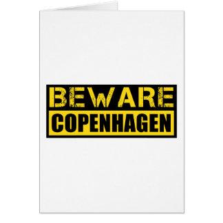 Beware Copenhagen Card