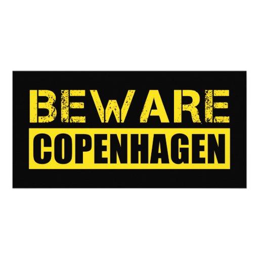 Beware Copenhagen Photo Card