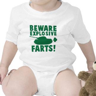 Beware EXPLOSIVE FARTS! Baby Creeper