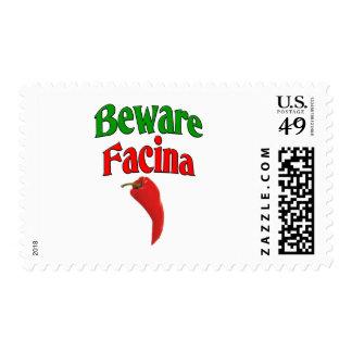Beware Facina (Evil Eye) Postage