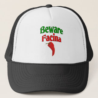 Beware Facina (Evil Eye) Trucker Hat