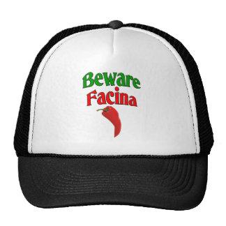 Beware Facina (Evil Eye) Trucker Hat