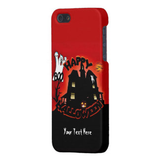 Beware! Haunted House - Enter at Your Own Risk! Cover For iPhone SE/5/5s