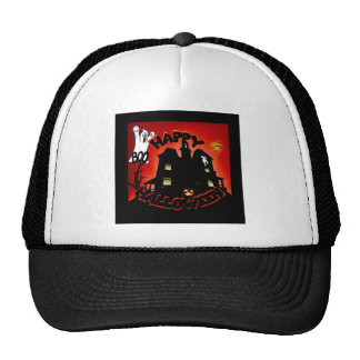 Beware! Haunted House - Enter at Your Own Risk! Trucker Hat