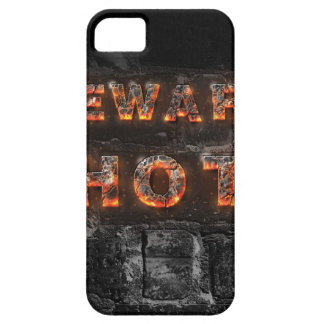 Beware hot text with firestone letters iPhone SE/5/5s case