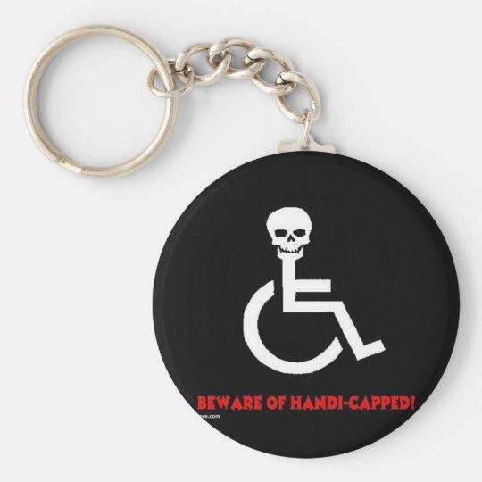 Beware Keychain