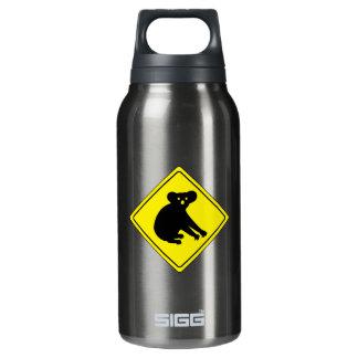 Beware Koalas, Traffic Warning Sign, Australia Insulated Water Bottle