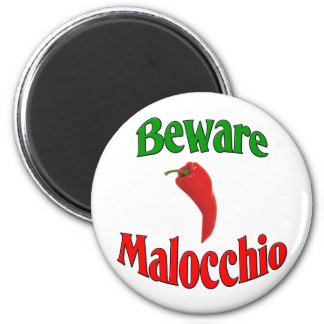 Beware Malocchio (Evil Eye) Magnet