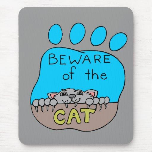 Beware Mouse Pad