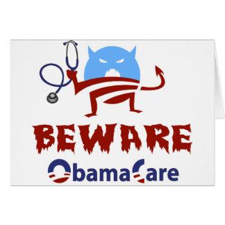Beware ObamaCare Card