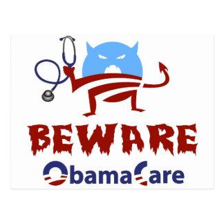 Beware ObamaCare Post Cards