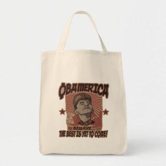 Beware Obama's Obamerica Tote Bag
