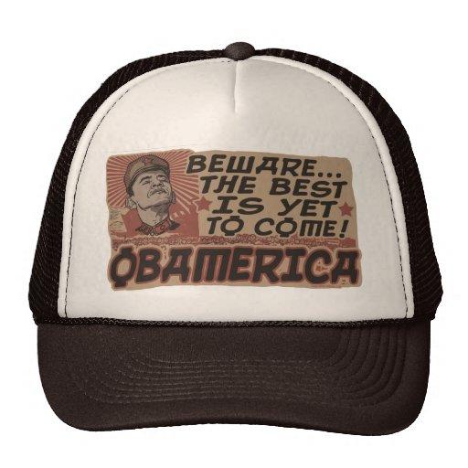 Beware Obama's Obamerica Mesh Hats
