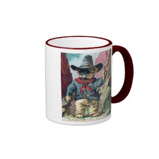 Beware of Bandit Bear with Bandana Mug