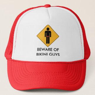 Beware of Bikini Guys Trucker Hat