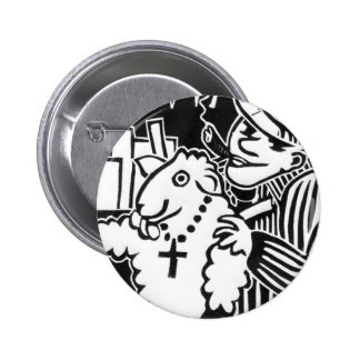 Beware of Capitalists in Sheep's Clothing Pinback Button