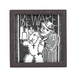 Beware of Capitalists in Sheep's Clothing Premium Jewelry Boxes