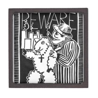 Beware of Capitalists in Sheep's Clothing Premium Jewelry Box