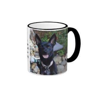 Beware of Chichuhua! Ringer Coffee Mug