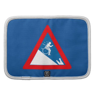 Beware of Crocodiles, Sign, South Africa Folio Planners
