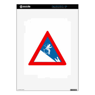 Beware of Crocodiles, Sign, South Africa Decal For iPad 2