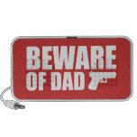 Beware of Dad iPod Speakers
