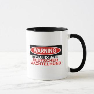 Beware Of Deutscher Wachtelhund Mug
