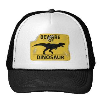Beware of Dinosaur (damaged) Trucker Hat