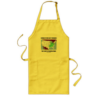 Beware Of Dixie Alley Tornadoes Powerful Punch Long Apron