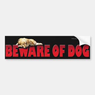 Beware of Dog... Bumper Sticker