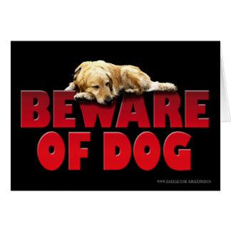 Beware of Dog... Card