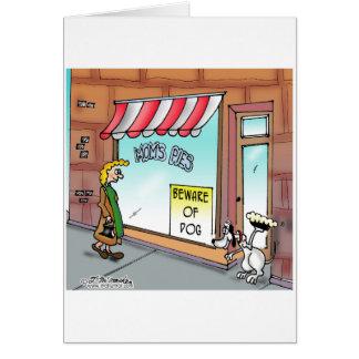 Beware of Dog Greeting Cards