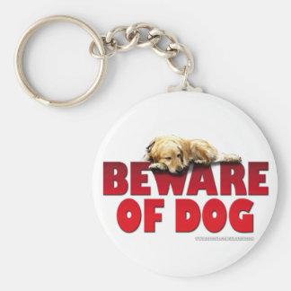 Beware of Dog... Keychain